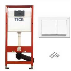 Инсталляция TECE base 9400000 с панелью смыва TECE base белая