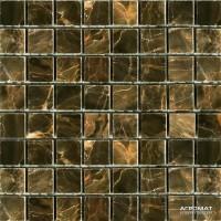 Мозаика Mozaico de Lux Stone C-MOS SABLE BROWN POL 10×15×15