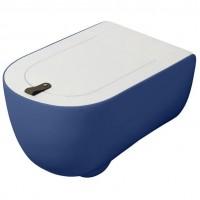 Подвесной унитаз безободковый Artceram The One (THV001 16;00) blue sapphire
