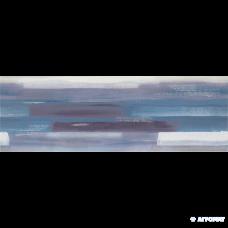 Плитка Opoczno Artistico BLUE INSERTO GEO декор 10×750×250