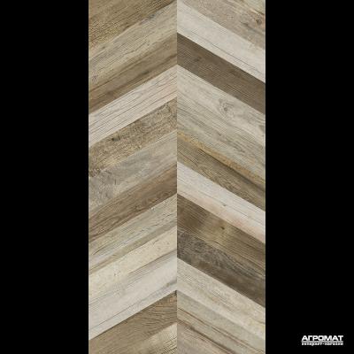 Керамогранит APE Ceramica Dock CHEVRON BROWN RECT 8×1200×600