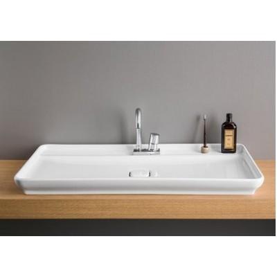 ⇨ Раковины | Керамическая раковина 98 см Artceram Naked System (NALOO1 01;00) в интернет-магазине ▻ TILES ◅