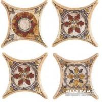 Напольная плитка Azulev Octogonal Декор ESTRELLA TARANCON BEIGE 6×67×67