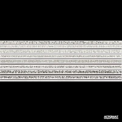 Плитка Opoczno Mirror GREY INSERTO LINES декор 10×750×250