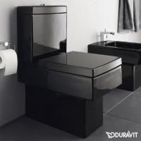 Унитаз Duravit Vero, черный 2116090800