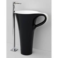 Каменная раковина 70 см Artceram Cup, black (OSL004 01;50)