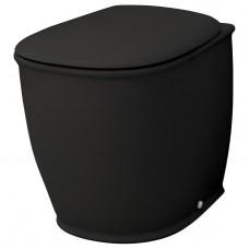Напольный унитаз Artceram Azuley (AZV002 03;00) black glossy