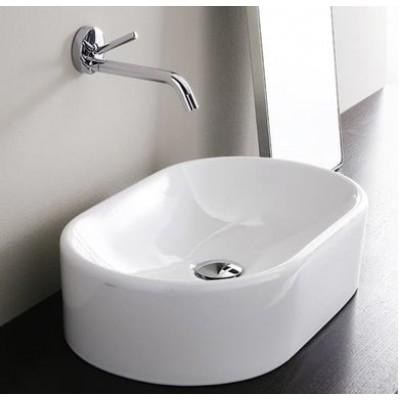 ⇨ Раковины | Керамическая раковина 52 см Simas Flow FL 13 в интернет-магазине ▻ TILES ◅