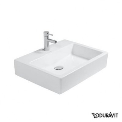 Керамическая раковина 60 см Duravit Vero, белая 0454600071