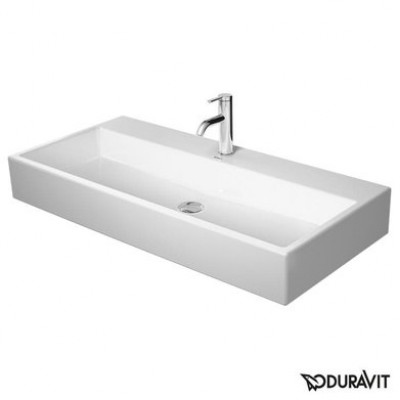 ⇨ Раковины | Керамическая раковина 100 см Duravit Vero Air 2350100041 в интернет-магазине ▻ TILES ◅