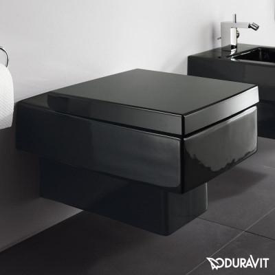 Подвесной унитаз Duravit Vero, черный 2217090864