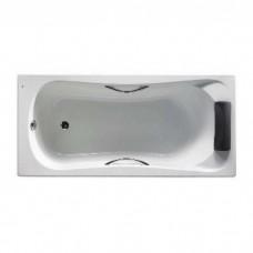 Ванна акриловая 170*80см ROCA BECOOL A248016001 с ножками ручками и подголовником