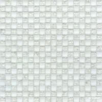 Мозаика Grand Kerama 538 шахматка белый матовый-белый колотый 6×300×300