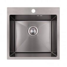 Кухонная мойка Imperial Handmade D5050BL 2.7/1.0 мм (IMPD5050BLPVDH10)