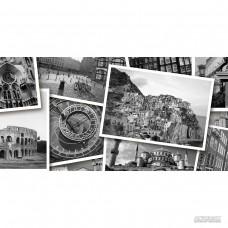 Плитка GOLDEN TILE Absolute collage ABSOLUTE ЧЕРНЫЙ Г2С441 8×600×300