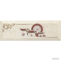 Плитка Monopole Ceramica Petra PRANZO GOLD C декор 8×300×100