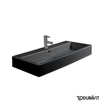 Керамическая раковина 70 см Duravit Vero, черная 0454700827