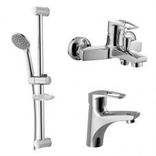 Набор смесителей для ванны Imprese Lidice 0510095670 3 в 1
