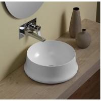 Керамическая раковина 42 см Simas Sharp, bianco glossy SH 02
