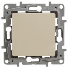 1-клавишный выключатель перекрестный LEGRAND Etika Кремовый (672309)
