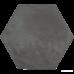 ⇨ Керамогранит | Керамогранит Marca Corona Terra 0094 TER.NERO ESAGONA в интернет-магазине ▻ TILES ◅