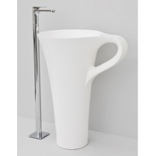 Каменная раковина 70 см Artceram Cup, white (OSL004 01;00)