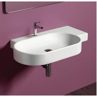 ⇨ Раковины | Керамическая раковина 88 см Simas Flow FL 23 в интернет-магазине ▻ TILES ◅
