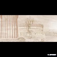 Плитка GOLDEN TILE Savoy 401351 декор 8×600×300