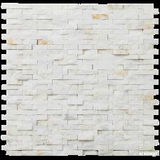 Мозаика Mozaico de LUx C-MOS BRICK CHINA WHITE SPLIT 10×300×300