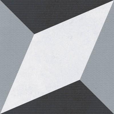 Керамогранит MAYOLICA DECOR FORMA BLACK 7×200×200