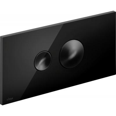 Клавиша смыва Viega Visign for Style 10 модель 8315.1, насыщенный черный 686543