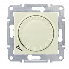 Светорегулятор поворотный емкостный Schneider Sedna Алюминий (SDN2200660)