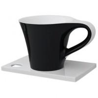Каменная раковина 70 см Artceram Cup, black (OSL005 01;50)
