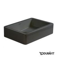 Керамическая раковина 50 см Duravit Vero, черная 0455500800