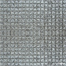 Мозаика Grand Kerama 628 (моно) платина рифленая
