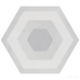 Керамогранит Geotiles Starkhex STARKDEC GRIS 11×290×258