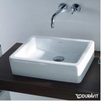 Керамическая раковина 50 см Duravit Vero, белая 0455500000