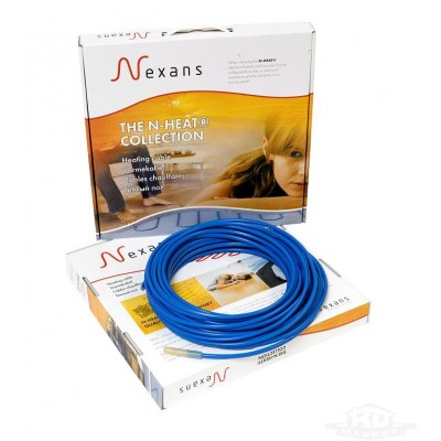 Тёплый пол кабель нагревательный двужильный Nexans TXLP/2R 200 Вт 17 Вт/м