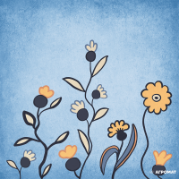Плитка Almera Ceramica Prima Maria DEC BLUE 7 7×200×200