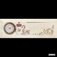 Плитка Monopole Ceramica Petra PRANZO GOLD B декор 8×300×100