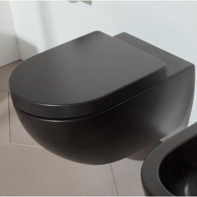 ⇨ Унитазы | Унитаз подвесной безободковый Flaminia APP goclean AP118G NERO MATT GRAPHITE в интернет-магазине ▻ TILES ◅