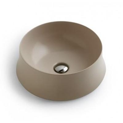 ⇨ Раковины | Керамическая раковина 42 см Simas Sharp, champagne glossy SH 02 в интернет-магазине ▻ TILES ◅