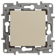 1-клавишный переключатель промежуточный LEGRAND Etika Кремовый (664804)