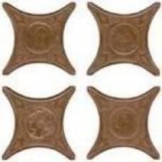 Напольная плитка Azulev Cross ESTRELLA NAMI декор 6×67×67
