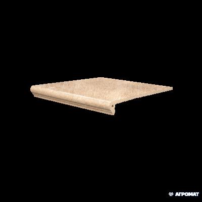 ⇨ Клинкерная плитка | Клинкер SDS Keramik Marburg FLORENTINER BEIGE ступени в интернет-магазине ▻ TILES ◅