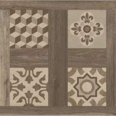 Керамогранит Argenta Ceramica Selandia Decor Noce 10×600×600