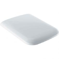571910000 Geberit iCon Square Сиденье с крышкой для унитаза, дюропластовое, металлические петли с функцией плавного опускания (soft-close), белое