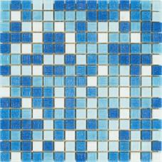 Мозаика Stella di Mare R-MOS B1131323335 микс голубой-5 (на бумаге) 4×327×327