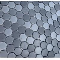 Мозаика MOZAICO DE LUX V-MOS JB2306LF-LH123 GREY