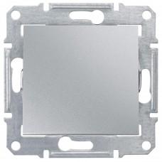 1-клавишный выключатель Schneider Sedna Алюминий (SDN0100160)